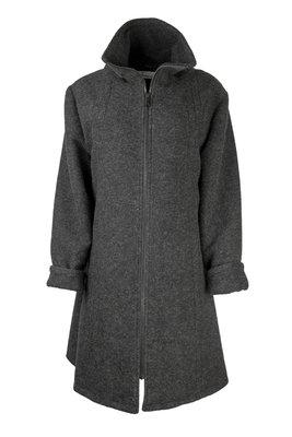Herluf design Lido winterjas donker grijs