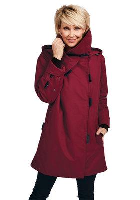Herluf design Rikke winterjas bordeaux rood