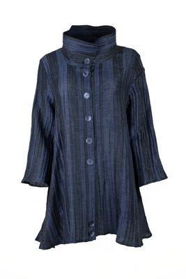 Ralston Erki blouse lang blauw