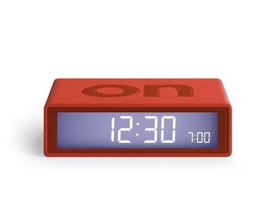LEXON Flip Clock 2 Red LR130R7
