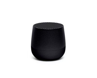 LEXON Mino Speaker Metal Black LA113MN