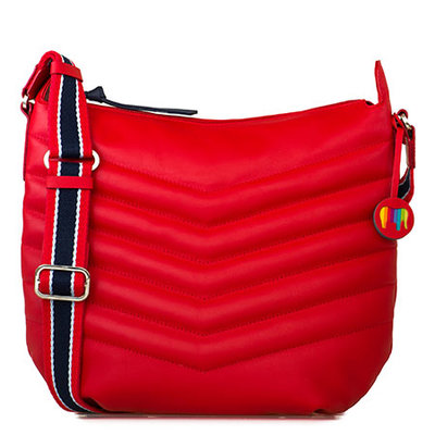 MyWalit Aruba Hobo Red 2136-25