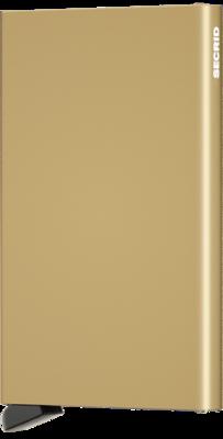 Secrid Cardprotector C Gold portemonnee