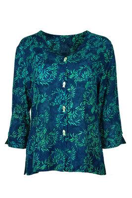 Unikat Artwear kleding blouse 120 jeans blauw