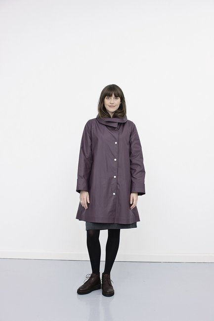 McVerdi Rubber Coat 660E Plum
