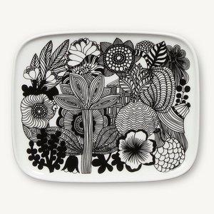 Marimekko servies Oiva schotel wit/zwart 067845-090