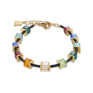 Limited Edition Coeur de Lion Armband 4975/ /1500 Multicolour