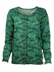 Mansted kleding Flo vest blauw/groen