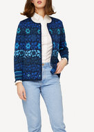 Oleana Cardigan 343 W dark blue