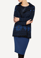 Oleana Cardigan 345 W Dark Blue
