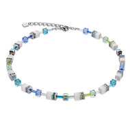 Coeur de Lion Ketting 2838/ /0731 Multcolor Pastel blue