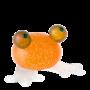 Glasstudio Borowski Frosch Oranje