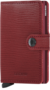 Secrid Miniwallet M Rango Red-Bordeaux portemonnee