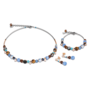 Coeur de Lion Armband 4864/ /0711 Crystal Blue-Brown