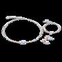 Coeur de Lion Armband 4952/ /2000 Aqua