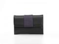 Krista's France small zwart, felrood, grijs, paars