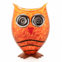 Glasstudio Borowski Vaas Owl Amber