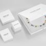 Coeur de Lion Ketting 4957/ /1800 Crystal