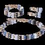 Coeur de Lion Armband 4905/ /0710 Blue-Beige