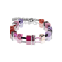 Coeur de Lion Armband 2838/ /0325 Multicolor Red-Rose