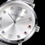 Coeur de Lion Horloge 7610/ /1717 Silver Sunray Milanese band