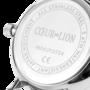 Coeur de Lion Horloge 7610/ /1224 Silver Sunray Lederen band