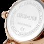 Coeur de Lion Horloge 7601/ /1036 Champagne Sunray Lederen band