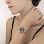 Coeur de Lion Horloge 7601/ /1636 Mocha Sunray Milanese band