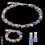 Coeur de Lion Armband 2839/ /0740 Blue-Brown-Lilac
