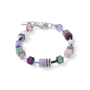 Coeur de Lion Armband 4905/ /0840 Lilac-Green