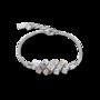 Coeur de Lion Armband 5037/ /1723 Silver-Rose gold