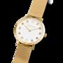 Coeur de Lion Horloge 7612/ /1614 Gold-White Milanese band