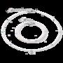 Coeur de Lion Armband 5033/ /1417 White-Silver