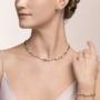 Coeur de Lion Oorbellen 5023/ /1822 Crystal-Rose Gold