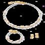Coeur de Lion Armband 5023/ /1816 Crystal-Gold