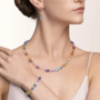 Coeur de Lion Ketting 5010/ /1522 Multicolour Pastel 1