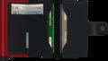Secrid Miniwallet M Matte Black & Red portemonnee