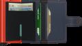 Secrid Miniwallet M Matte Nightblue & Orange portemonnee