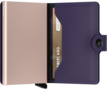 Secrid Miniwallet M Matte Purple-Rose portemonnee